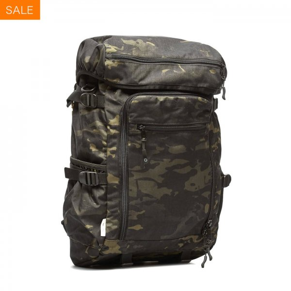 RUCKPACK - BLACK CAMO