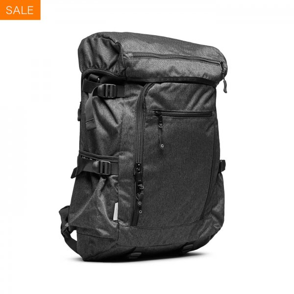RUCKPACK - CHARCOAL SPECKLED TWILL