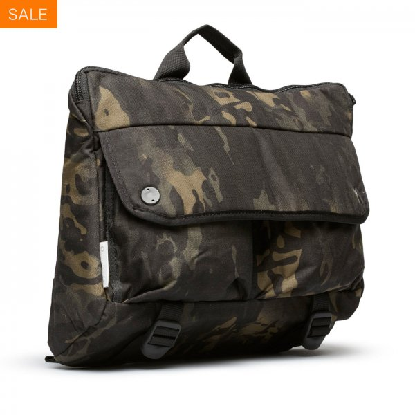 SHOULDER BAG - BLACK CAMO