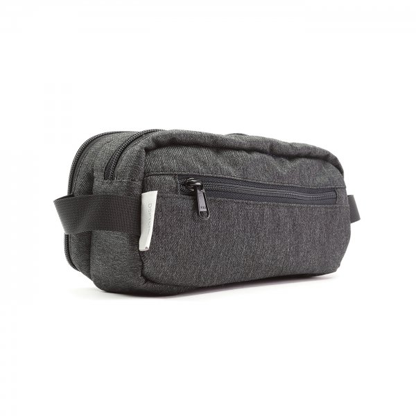 DOPP KIT - CHARCOAL SPECKLED TWILL