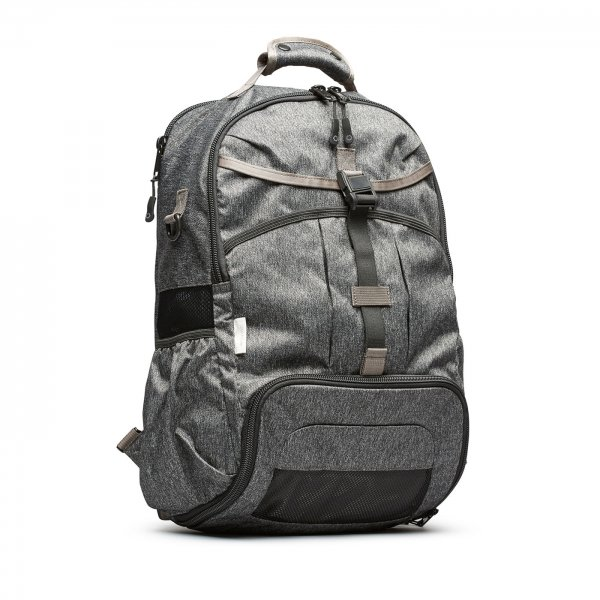 GYM/WORK PACK - GREY SPECKLED TWILL