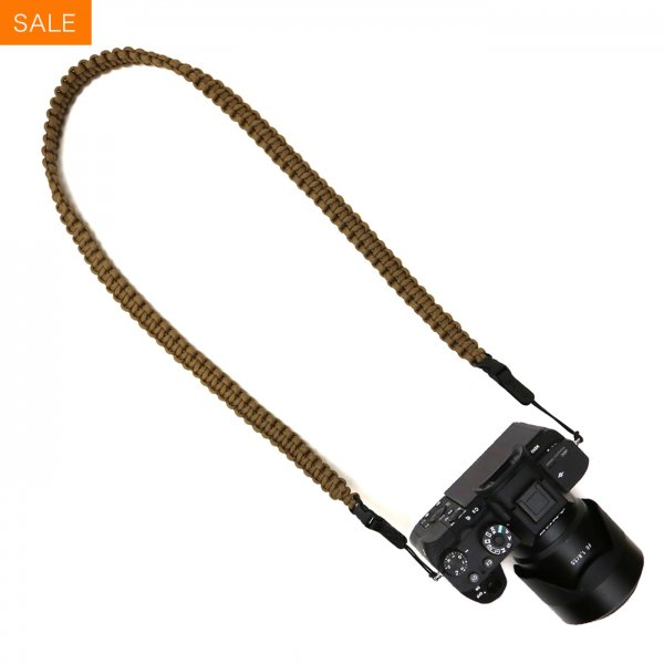 BRAIDED CAMERA SLING STRAP 44 - COYOTE