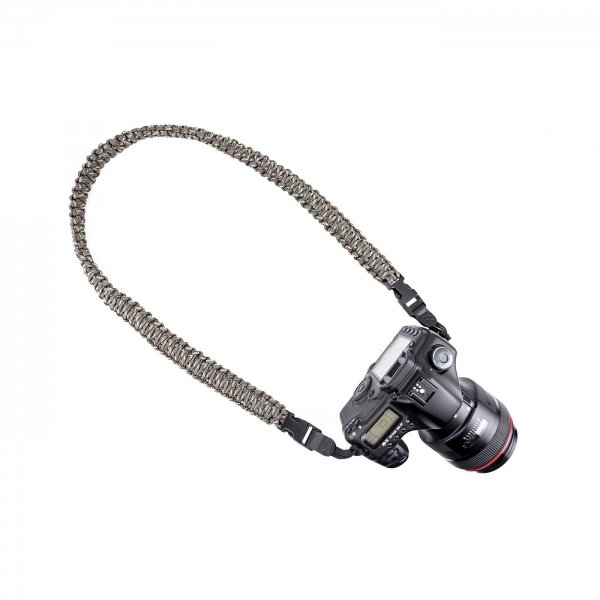 HEAVY BRAIDED CAMERA SLING STRAP 37 - CAMO