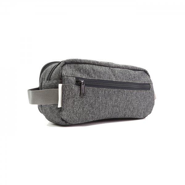 DOPP KIT - GREY SPECKLED TWILL