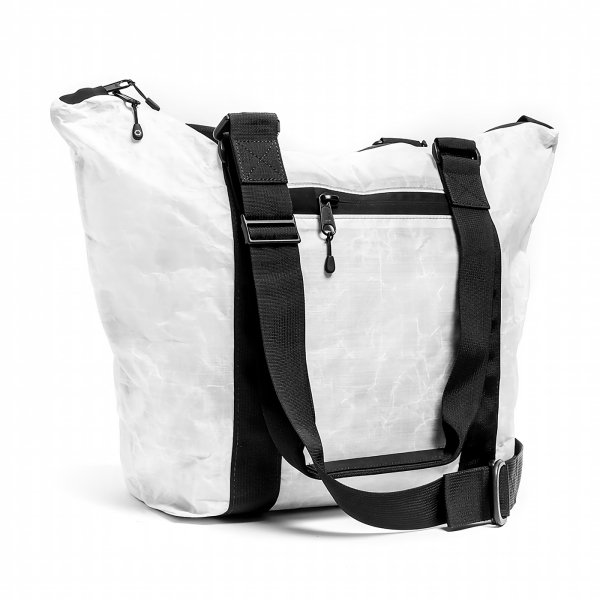 UNIT ZIPPER TOTE - WHITE
