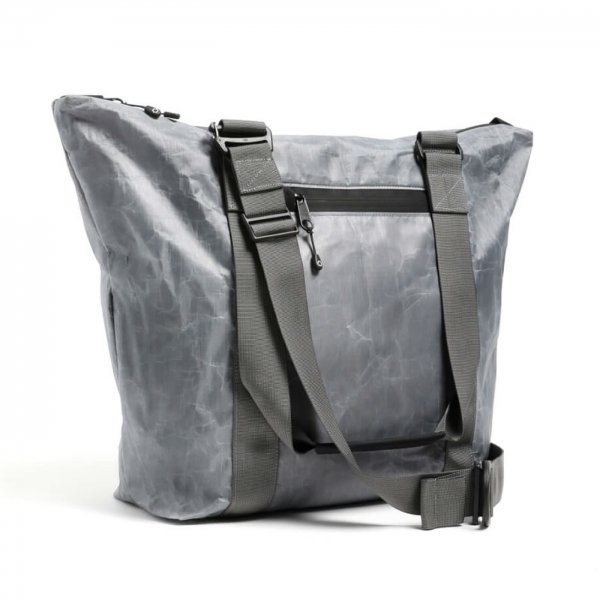 UNIT ZIPPER TOTE - GREY
