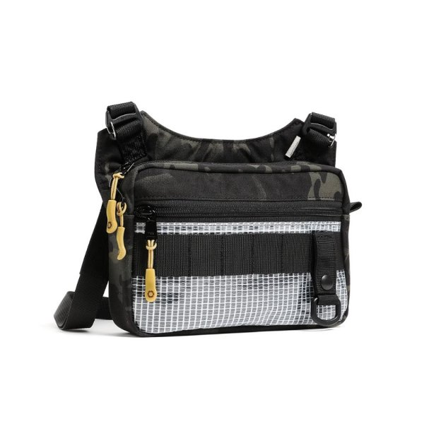 SLING POUCH - MEDIUM - BLACK CAMO
