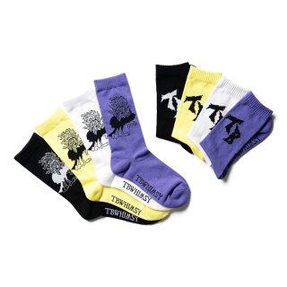 YATAGARASU SOCKS (TIGHTBOOTH / WHIMSY SOCKS)