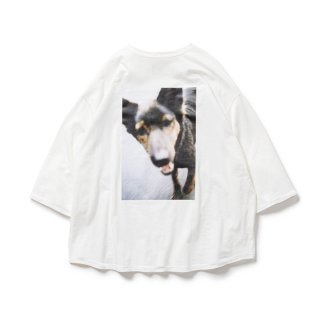 DOG 7 SLEEVE T-SHIRT(TIGHTBOOTH / JIRO KONAMI)