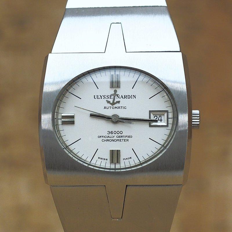 Ulysse Nardin cronometer 36000 SS AT  ref A.7650 Cal. NB11QU