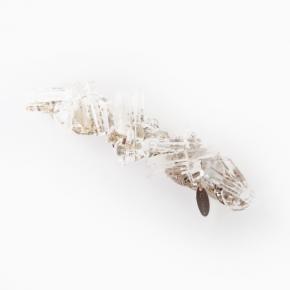 crystal バレッタ