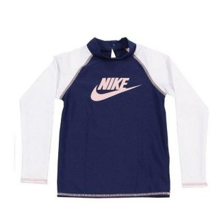 <img class='new_mark_img1' src='https://img.shop-pro.jp/img/new/icons29.gif' style='border:none;display:inline;margin:0px;padding:0px;width:auto;' />ナイキ(NIKE) キッズ TODDLER ロングスリーブ UV ラッシュガード 1981722 08