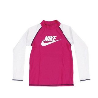<img class='new_mark_img1' src='https://img.shop-pro.jp/img/new/icons29.gif' style='border:none;display:inline;margin:0px;padding:0px;width:auto;' />ナイキ(NIKE) キッズ TODDLER ロングスリーブ UV ラッシュガード 1981722 25