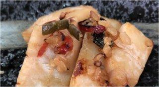 天然帆立貝柱の醤油麹漬け