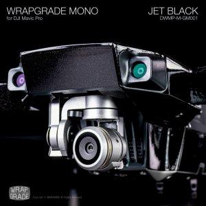 JET BLACK / ジェットブラック (グロスメタリック) WRAPGRADE MONO for DJI Mavic Pro