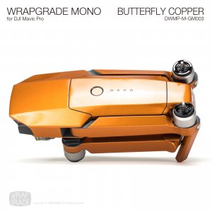 BUTTERFLY COPPER / バタフライコパー (グロスメタリック) WRAPGRADE MONO for DJI Mavic Pro