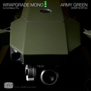 ARMY GREEN / アーミーグリーン (マット・ツヤ消し) WRAPGRADE MONO for DJI Mavic Pro
