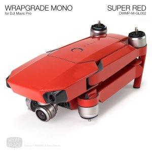 SUPER RED / スーパーレッド (グロス・ツヤ) WRAPGRADE MONO for DJI Mavic Pro