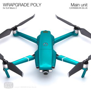 WRAPGRADE POLY for DJI Mavic 2 カリビアンブルー