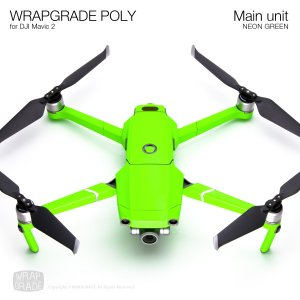 WRAPGRADE POLY for DJI Mavic 2 ネオングリーン