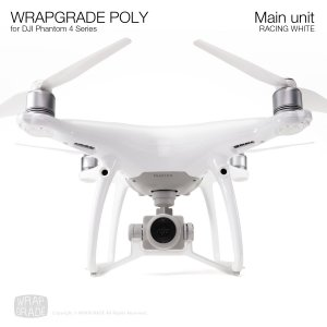 <img class='new_mark_img1' src='https://img.shop-pro.jp/img/new/icons12.gif' style='border:none;display:inline;margin:0px;padding:0px;width:auto;' />WRAPGRADE POLY for DJI Phantom 4シリーズ レーシングホワイト