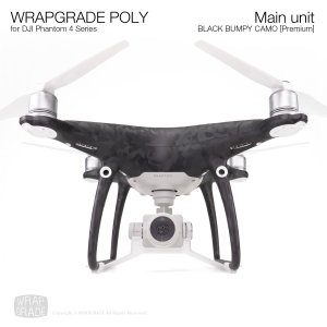 <img class='new_mark_img1' src='https://img.shop-pro.jp/img/new/icons12.gif' style='border:none;display:inline;margin:0px;padding:0px;width:auto;' />WRAPGRADE POLY for DJI Phantom 4シリーズ ブラックバンピーカモ【Premium】