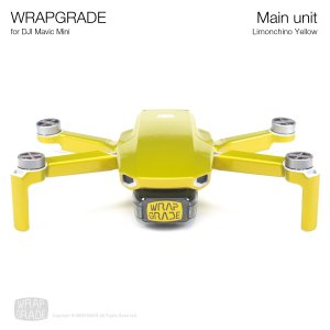 WRAPGRADE for Mavic Mini リモンチーノイエロ