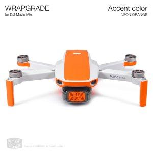WRAPGRADE POLY for Mavic Mini 用 アクセントカラー ネオンオレンジ