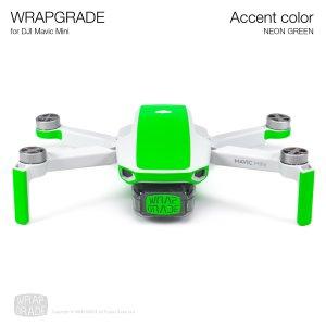 WRAPGRADE POLY for Mavic Mini 用 アクセントカラー ネオングリーン