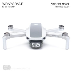 WRAPGRADE POLY for Mavic Mini 用 アクセントカラー エアーフォースシルバー