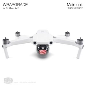 <img class='new_mark_img1' src='https://img.shop-pro.jp/img/new/icons12.gif' style='border:none;display:inline;margin:0px;padding:0px;width:auto;' />WRAPGRADE for DJI Mavic Air 2 レーシングホワイト