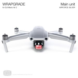 <img class='new_mark_img1' src='https://img.shop-pro.jp/img/new/icons12.gif' style='border:none;display:inline;margin:0px;padding:0px;width:auto;' />WRAPGRADE for DJI Mavic Air 2 エアーフォースシルバー
