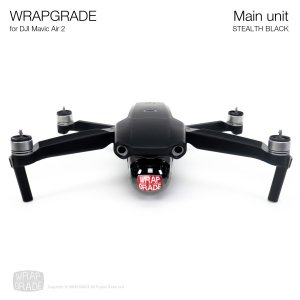 <img class='new_mark_img1' src='https://img.shop-pro.jp/img/new/icons12.gif' style='border:none;display:inline;margin:0px;padding:0px;width:auto;' />WRAPGRADE for DJI Mavic Air 2 ステルスブラック