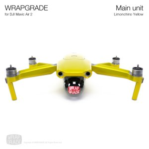 <img class='new_mark_img1' src='https://img.shop-pro.jp/img/new/icons12.gif' style='border:none;display:inline;margin:0px;padding:0px;width:auto;' />WRAPGRADE for DJI Mavic Air 2 リモンチーノイエロ