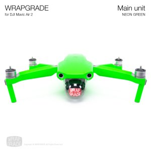 <img class='new_mark_img1' src='https://img.shop-pro.jp/img/new/icons12.gif' style='border:none;display:inline;margin:0px;padding:0px;width:auto;' />WRAPGRADE for DJI Mavic Air 2 ネオングリーン