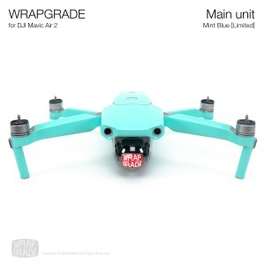 <img class='new_mark_img1' src='https://img.shop-pro.jp/img/new/icons12.gif' style='border:none;display:inline;margin:0px;padding:0px;width:auto;' />WRAPGRADE for DJI Mavic Air 2 ミントブルー【Limited】