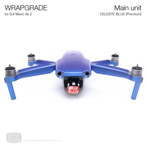<img class='new_mark_img1' src='https://img.shop-pro.jp/img/new/icons12.gif' style='border:none;display:inline;margin:0px;padding:0px;width:auto;' />WRAPGRADE for DJI Mavic Air 2 セレストブルー【Premium】