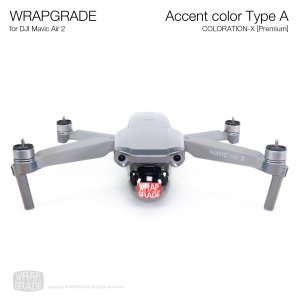 <img class='new_mark_img1' src='https://img.shop-pro.jp/img/new/icons12.gif' style='border:none;display:inline;margin:0px;padding:0px;width:auto;' />WRAPGRADE for DJI Mavic Air 2 アクセントカラー A カラーレーションX【Premium】