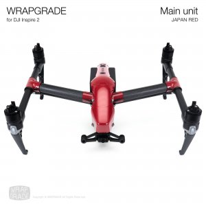 <img class='new_mark_img1' src='https://img.shop-pro.jp/img/new/icons12.gif' style='border:none;display:inline;margin:0px;padding:0px;width:auto;' />WRAPGRADE for DJI Inspire 2 ジャパンレッド