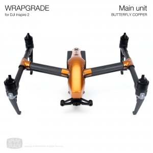 <img class='new_mark_img1' src='https://img.shop-pro.jp/img/new/icons12.gif' style='border:none;display:inline;margin:0px;padding:0px;width:auto;' />WRAPGRADE for DJI Inspire 2 バタフライコパー