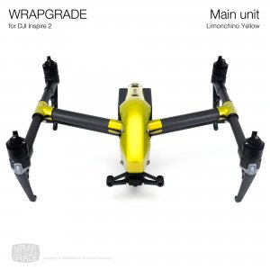 <img class='new_mark_img1' src='https://img.shop-pro.jp/img/new/icons12.gif' style='border:none;display:inline;margin:0px;padding:0px;width:auto;' />WRAPGRADE for DJI Inspire 2 リモンチーノイエロ