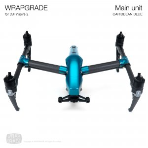 <img class='new_mark_img1' src='https://img.shop-pro.jp/img/new/icons12.gif' style='border:none;display:inline;margin:0px;padding:0px;width:auto;' />WRAPGRADE for DJI Inspire 2 カリビアンブルー