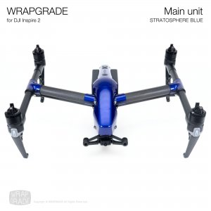 <img class='new_mark_img1' src='https://img.shop-pro.jp/img/new/icons12.gif' style='border:none;display:inline;margin:0px;padding:0px;width:auto;' />WRAPGRADE for DJI Inspire 2 ストラトスフェアブルー