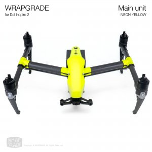 <img class='new_mark_img1' src='https://img.shop-pro.jp/img/new/icons12.gif' style='border:none;display:inline;margin:0px;padding:0px;width:auto;' />WRAPGRADE for DJI Inspire 2 ネオンイエロー