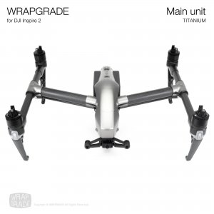 <img class='new_mark_img1' src='https://img.shop-pro.jp/img/new/icons12.gif' style='border:none;display:inline;margin:0px;padding:0px;width:auto;' />WRAPGRADE for DJI Inspire 2 チタニウム
