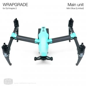 <img class='new_mark_img1' src='https://img.shop-pro.jp/img/new/icons12.gif' style='border:none;display:inline;margin:0px;padding:0px;width:auto;' />WRAPGRADE for DJI Inspire 2 ミントブルー【Limited】