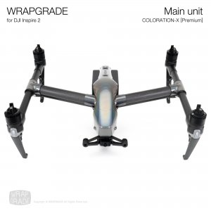 <img class='new_mark_img1' src='https://img.shop-pro.jp/img/new/icons12.gif' style='border:none;display:inline;margin:0px;padding:0px;width:auto;' />WRAPGRADE for DJI Inspire 2 カラーレーションX【Premium】