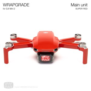 <img class='new_mark_img1' src='https://img.shop-pro.jp/img/new/icons12.gif' style='border:none;display:inline;margin:0px;padding:0px;width:auto;' />WRAPGRADE for DJI Mini 2 スーパーレッド