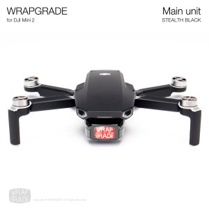 <img class='new_mark_img1' src='https://img.shop-pro.jp/img/new/icons12.gif' style='border:none;display:inline;margin:0px;padding:0px;width:auto;' />WRAPGRADE for DJI Mini 2 ステルスブラック