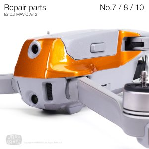 <img class='new_mark_img1' src='https://img.shop-pro.jp/img/new/icons12.gif' style='border:none;display:inline;margin:0px;padding:0px;width:auto;' />Repair parts for DJI Mavic Air 2 全20色 No.7 / No.8 / No.10 セット